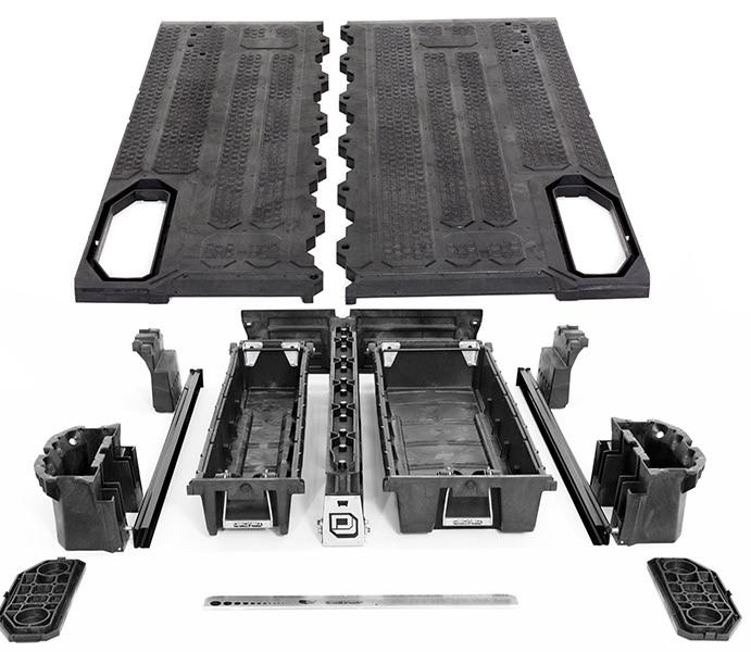 Modelos compatibles de Organizadores de Carga para Camionetas - PickUp MIDSIZE