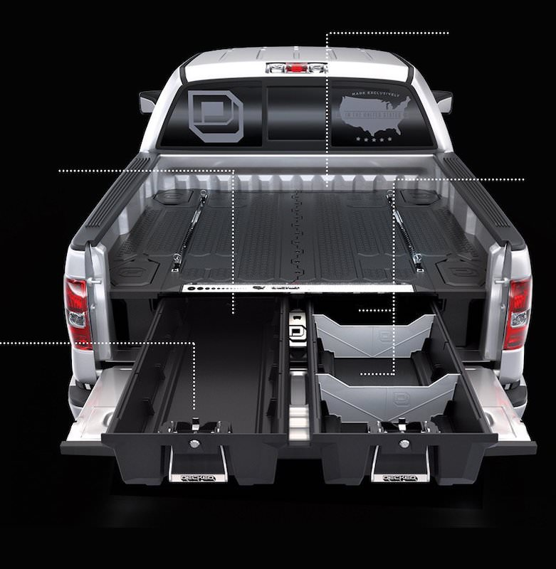 Organizador de Carga para Camionetas - FullSize - Decked Chile